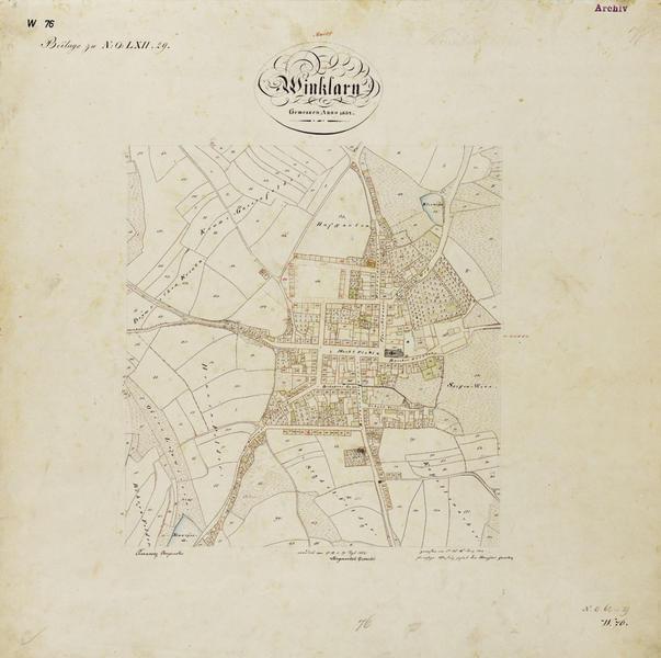 Ort Winklarn 1832